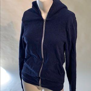 Navy blue American apparel hoodie XS